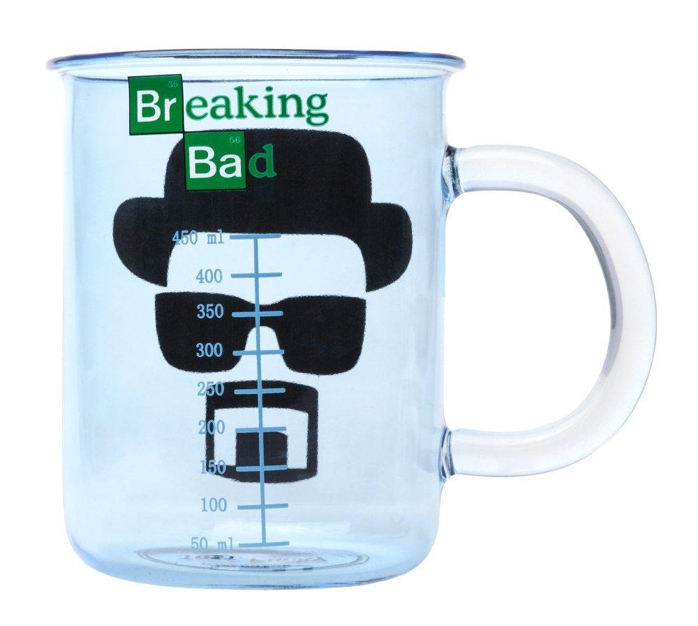 Breaking Bad Glass Beaker Mug