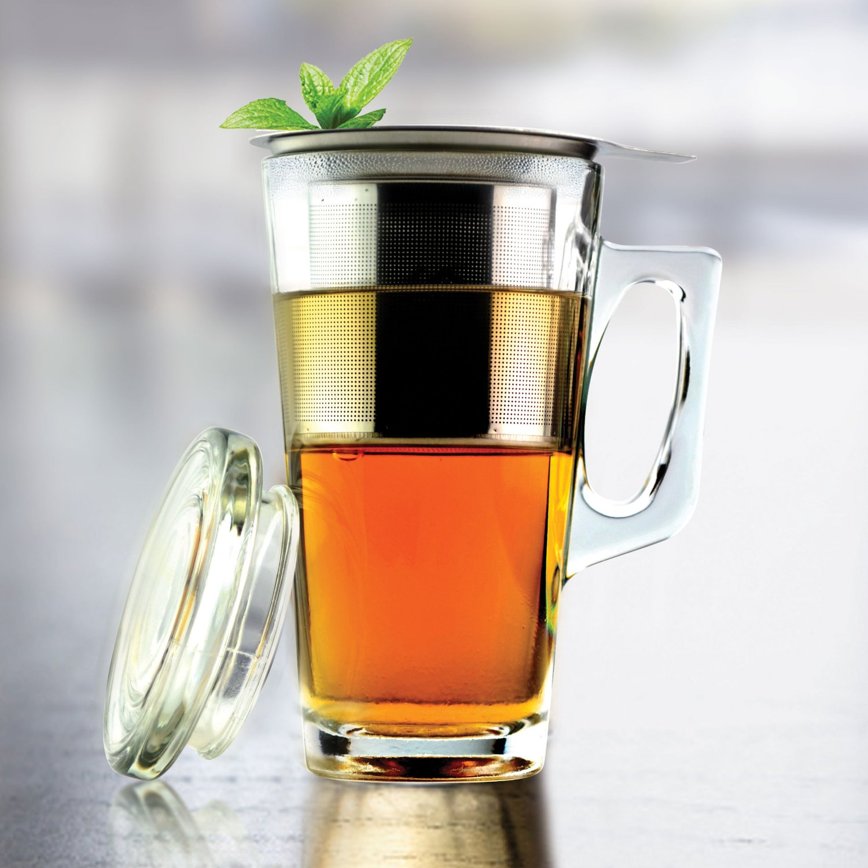 Tea Mug with Stainless Steel Infuser